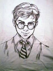 Harry Potter-shirt-commission by saniika
