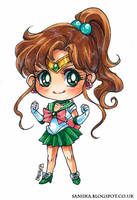Sailor Jupiter by saniika
