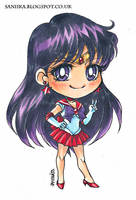 Sailor Mars by saniika