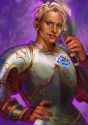 Kyden the Fighter by saniika