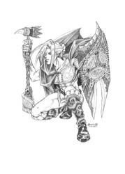 warrior by saniika