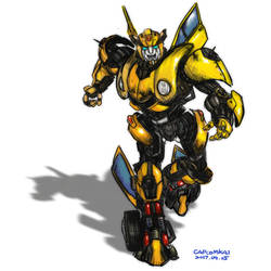 G1 bumblebee study sketching by capcomkai2008