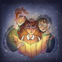 Golden Trio by MrsSandy