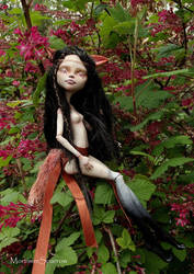 Fox Fairy - Monster High repaint by mortimersparrow