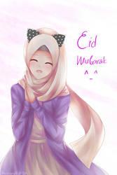 Eid Mubarak by Ricchan08