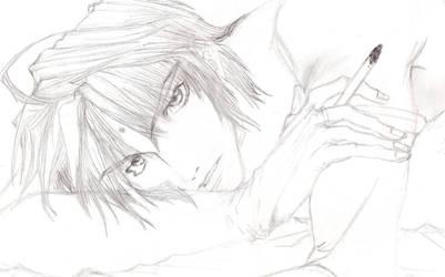 Sanzo Hoshi by SuzakuSlytherin