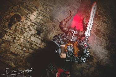 Diablo Barbarian by Butrix-Production