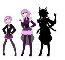 Violette Quinn by ZanyComics