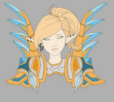 Paladin Challenge Mode WIP by DinaConcept