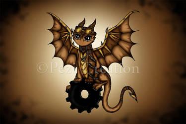 Steampunk Dragon by PeziCreation