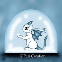 dragon snowglobal by PeziCreation