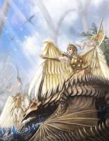 Arrogant wing by makkou4