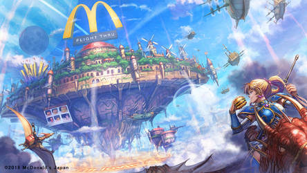 McDonald by makkou4
