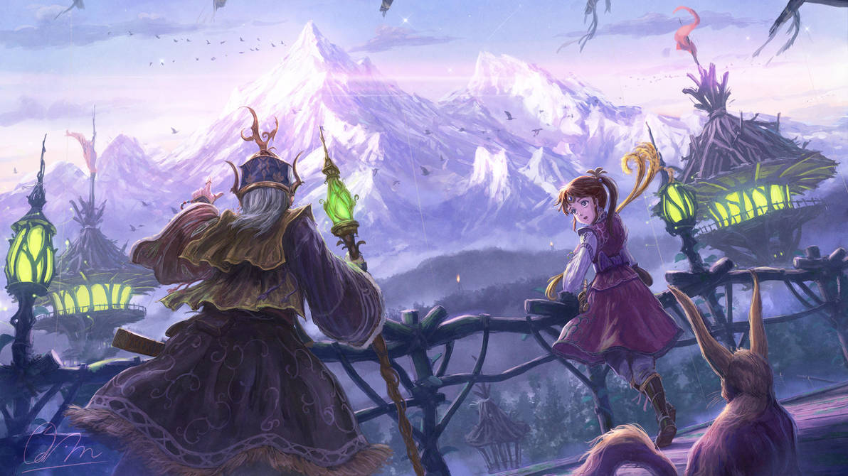 The mountain which guards time by makkou4