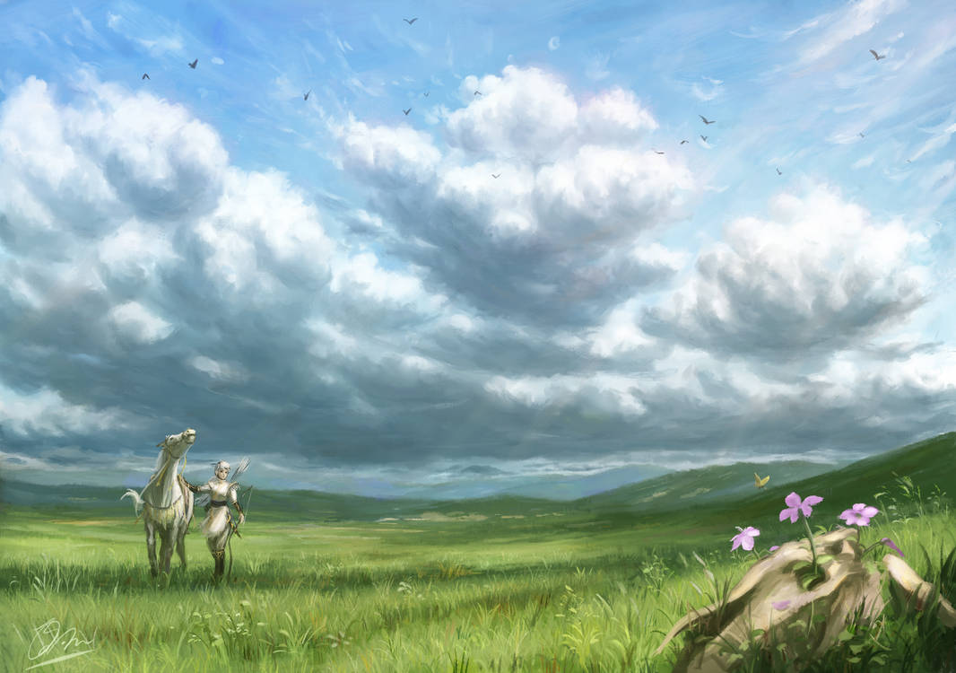 Flower of wasteland by makkou4