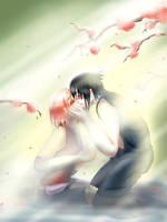 sasusaku - hunger by MiiruMiyuki