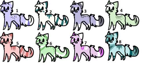 Kitties adopts by XxAdoptxX