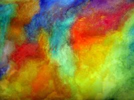 Water Rainbow by sea-weed