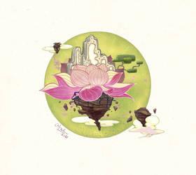 Lotus Palace by CamAnhhng