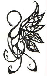Swan Tattoo by palehecate