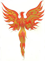 Phoenix by palehecate