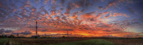 Morning Sunrise Colors by rekokros