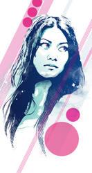 Anggun|Vector Tribute by Psycool