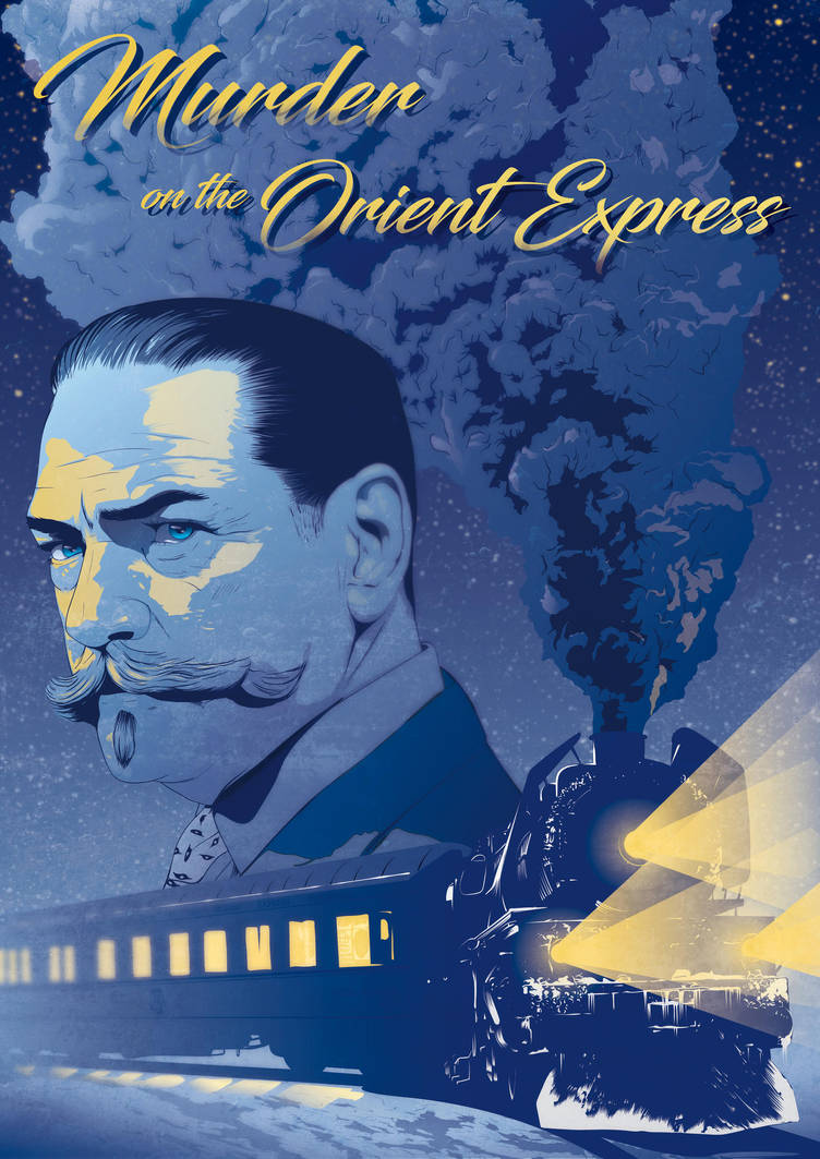 Murder on the orient express - Alternative poster by Psycool