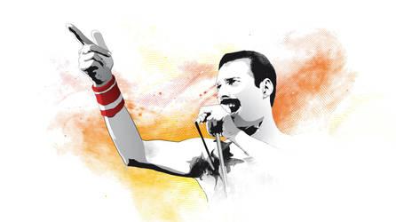 Happy Birthday Freddie Mercury by Psycool