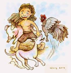 The Legend of Batu Hapu Cave by winrymarini