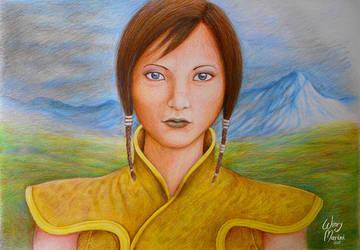 Satele Shan by winrymarini