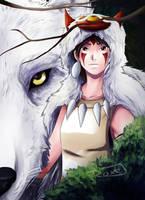 Princess Mononoke by Nami-v