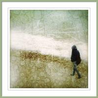 Walking by the shore by Kreazone
