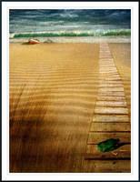 The Forgotten Beach... by Kreazone