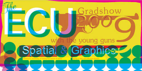 Invite to ECU Gradshow 2009 by 1chrono1
