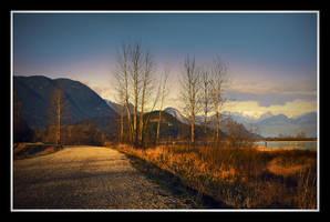 Snowy Mountains 2 by Violet-Kleinert