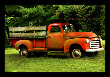 The Red Truck by Violet-Kleinert