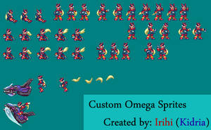 Custom Omega Sprites by kidria