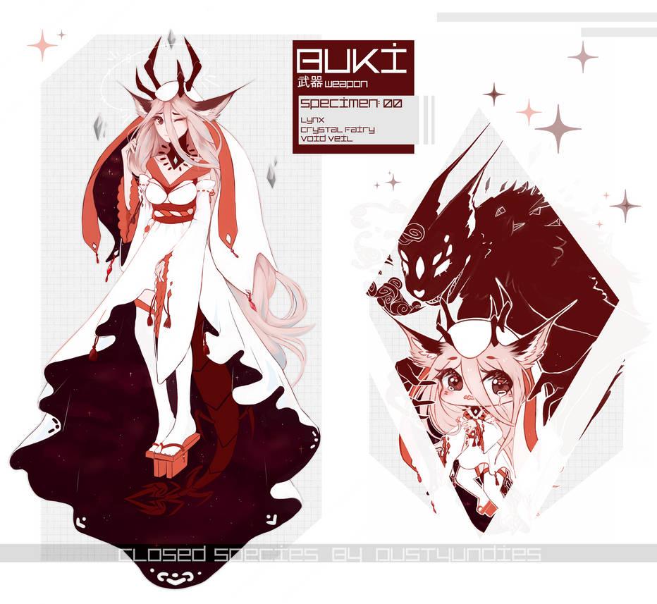 DU | Closed Species | Buki by DustyUndies