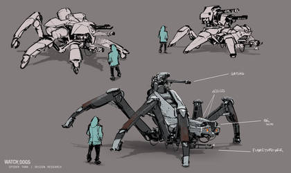 WD digitaltrips SpiderConcepts by Mdonze