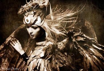 Wings of Time II by Annie-Bertram