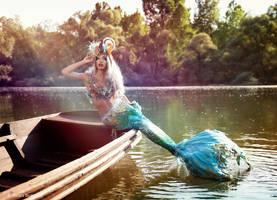 Dream of a mermaid by Annie-Bertram
