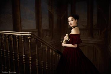 Lady with Ermine by Annie-Bertram