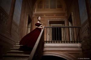Lady with an Ermine II by Annie-Bertram