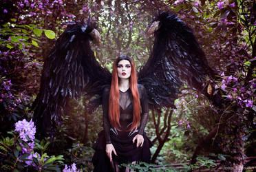 Dark Angel II by Annie-Bertram