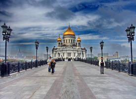 Main Russian Church - 2 by Oleg-Y