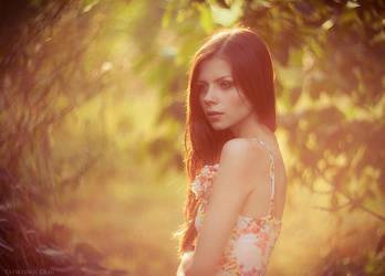 portrait in sunlight by Oleg-Y