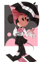 Trying Fashion: Minnie  by riukime