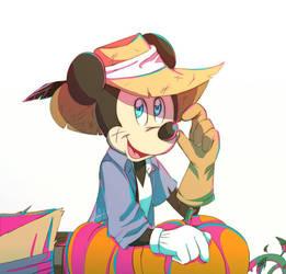 Scarecrow - Pumpkins  by riukime