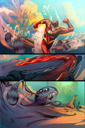 The Flash:My first colored seq by Peter-v-Nguyen